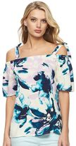 Juicy Couture Women's Off-the-Shoulder Bow Top