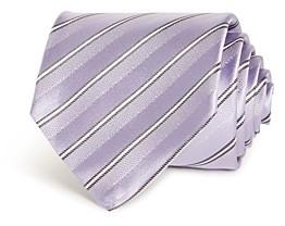 Giorgio Armani Striped Silk Wide Tie