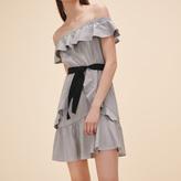 Maje Striped short dress
