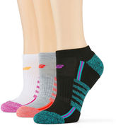 New Balance 3-pk. No-Show Performance Socks