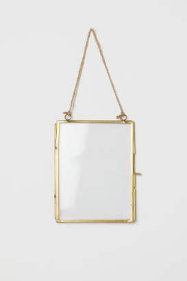 H&M Metal Photo Frame - Gold