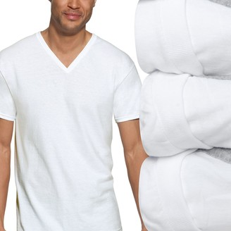 Hanes Men's Big & Tall Ultimate 3-pack ComfortBlend V-neck Tees