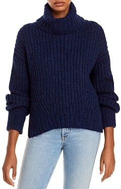 Eleven Six Ali Ribbed Turtleneck Sweater