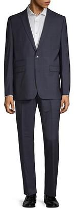 Vince Camuto Windowpane Wool Suit