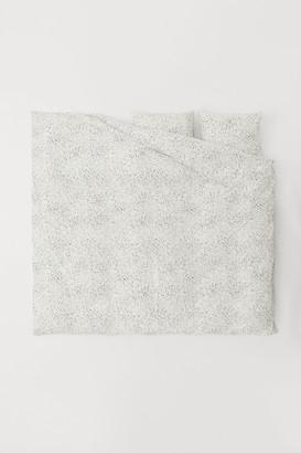 H&M Linen-blend Duvet Cover Set