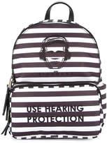 John Richmond Kids use hearing protection backpack
