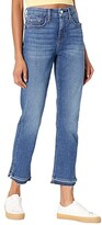 Thumbnail for your product : Jen7 Ankle Straight Jeans w/ Split Released Hem