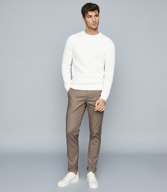 Reiss Eastbury Slim - Slim Fit Chinos in Taupe