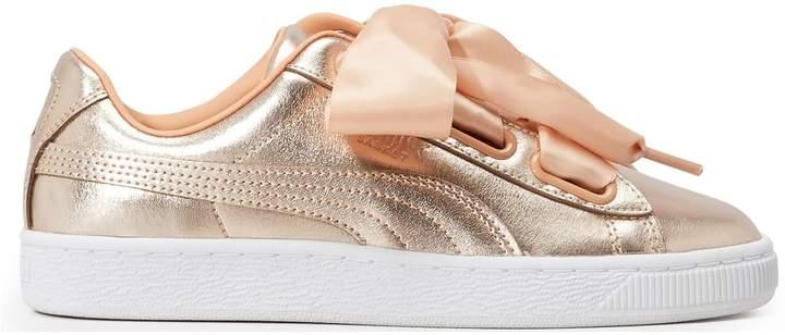 Heart sneakers