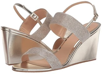 Badgley Mischka Nisa (Light Gold) Women's Shoes