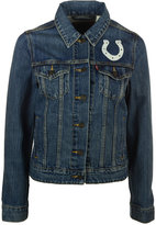Levi's Women's Indianapolis Colts Denim Trucker Jacket