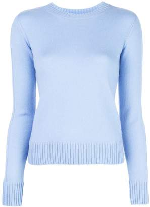 Vince ribbed knit detail sweater