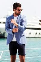 Mens Quizman Check Suit Jacket