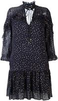 Just Cavalli gold-tone polka dots dress - women - Silk/Viscose - 40