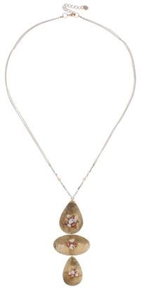 Nakamol Chicago Three-Charm Pendant Necklace