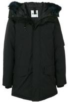 Kenzo Men's Black Polyester Coat.