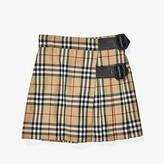 Burberry Luiza Skirt (Little Kids/Big Kids) (Archive Beige IP Check) Girl's Skirt