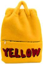 Fendi Yellow backpack