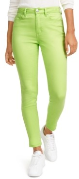 Tinseltown Juniors' Neon Wash Skinny Jeans