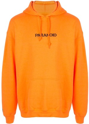 Anti Social Social Club Paranoid print hoodie
