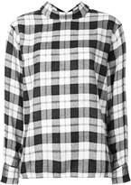 ASTRAET plaid reverse shirt