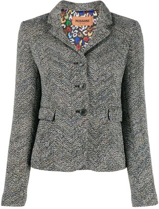 Missoni Fitted Textured Jacket