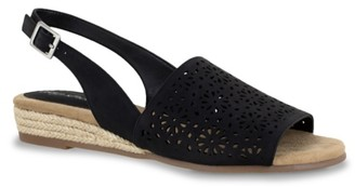 Easy Street Shoes Trudy Espadrille Wedge Sandal
