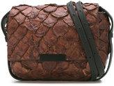 OSKLEN textured bag - women - Pirarucu Skin - One Size