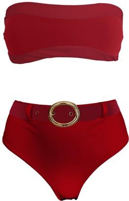 Lula Ru Holly Red Bikini Set