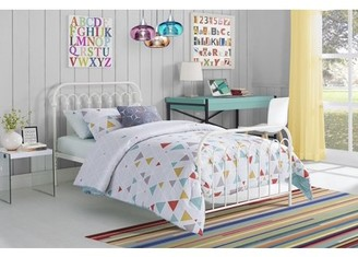 Novogratz 9 by Bright Pop Twin Metal Bed, Multiple Sizes and Colors