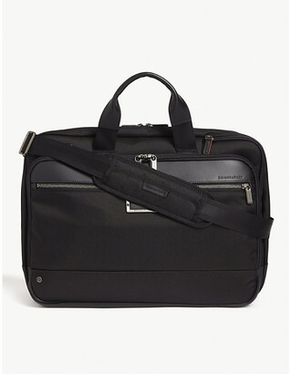 Briggs & Riley Large expandable ballistic nylon briefcase