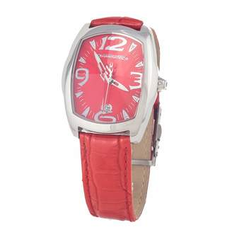 Chronotech Womens Analogue Quartz Watch with Leather Strap CT7504L-34