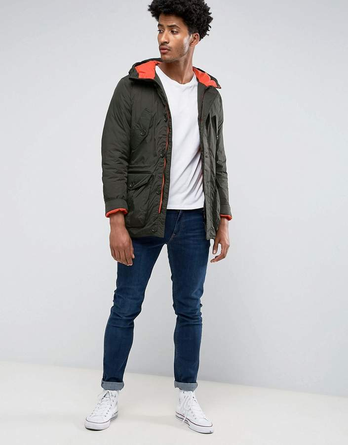 Puffa Padded Down Fill Parka