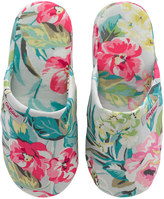 Cath Kidston Tropical Garden Lawn Hotel Slippers