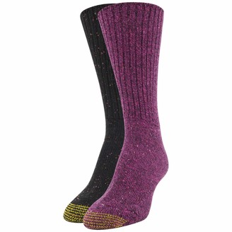 Gold Toe Women's Crossroads Boot Crew Socks 2 Pairs