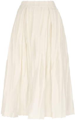 Whistles Textured Full Skirt