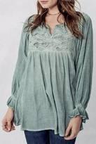 Promesa USA Bohemian Embroidered Tunic