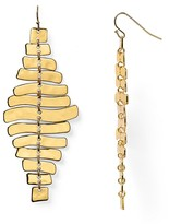 Robert Lee Morris Soho Sculptural Rectangular Linear Earrings