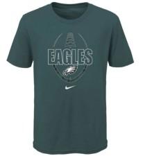 Nike Philadelphia Eagles Kids Football Icon T-Shirt