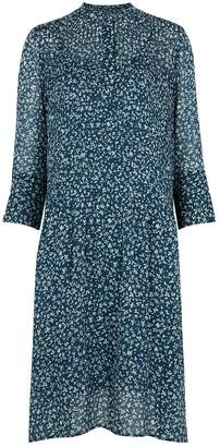 Samsoe & Samsoe Elm floral-print chiffon shirt dress