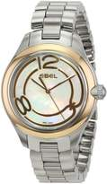 Ebel Women's 1216104 Onde Analog Display Swiss Quartz Silver Watch