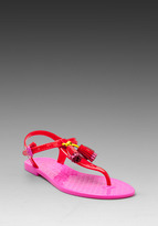 Juicy Couture Wisp Shiny Jelly Sandal