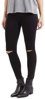 Topshop Women's Moto 'Leigh' Ripped Skinny Jeans