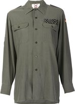 Figue embellished military shirt - women - Cotton - S