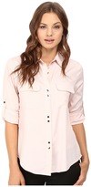 Ivanka Trump Double Button Blouse