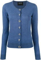 Markus Lupfer jewel button cardigan