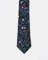 Paul Smith Floral Dots Tie