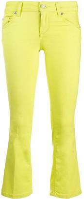 Liu Jo Cropped Flared Trousers
