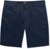 Hugo Boss - Crigan Slim-fit Stretch-cotton Shorts