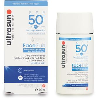 Ultrasun Face Brightening Anti-Spot & Anti-Pollution Fluid Spf 50+ 40Ml